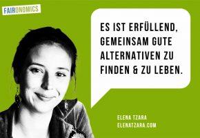 Elena Tzara: Die Veränderung beginnt in uns